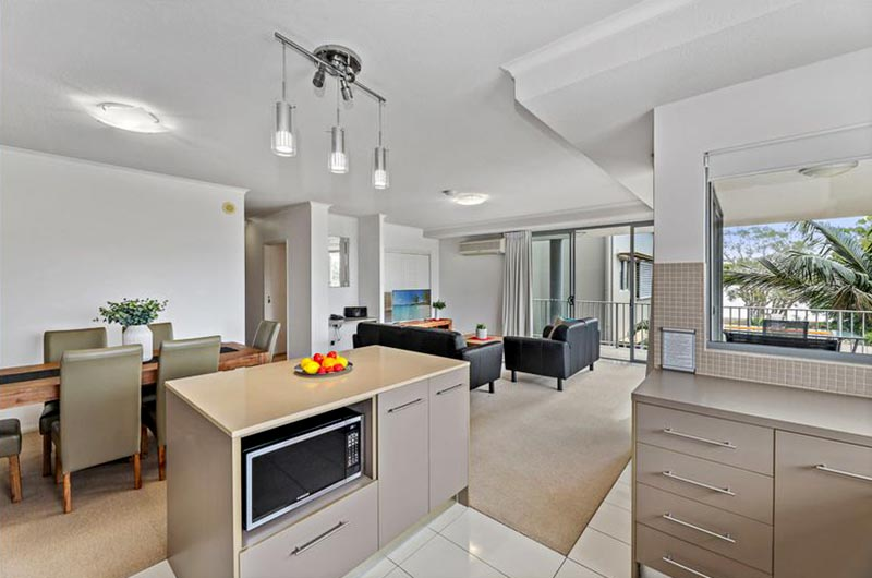 bribie island apartment sale unit 17 dining room
