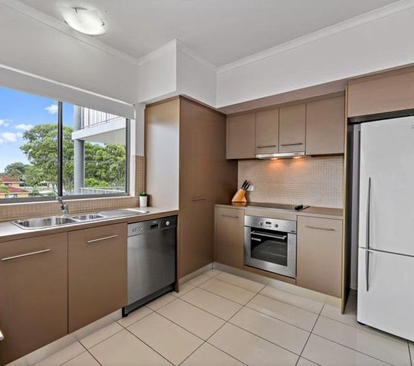 bribie island apartment sale unit 17 kitchen