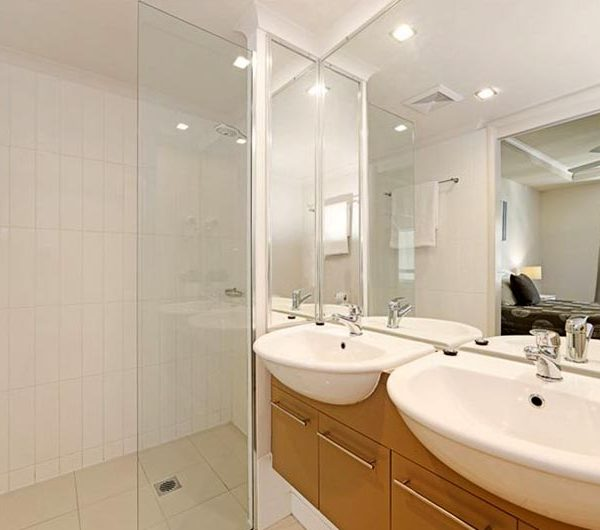 bribie island apartment sale unit 17 shower